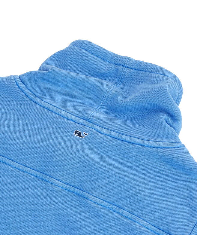 Garment Dyed Relaxed Funnel Neck Shep Shirt