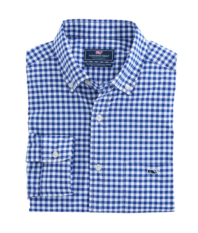 Ferndale Gingham Performance Classic Tucker Shirt