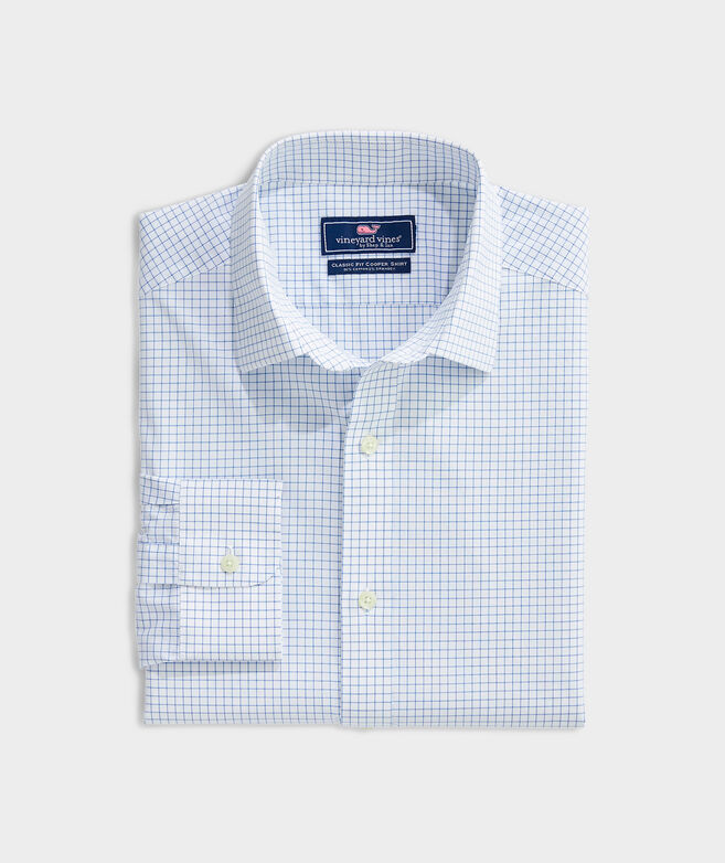 Classic Fit Calabash Check Spread Collar Cooper Shirt