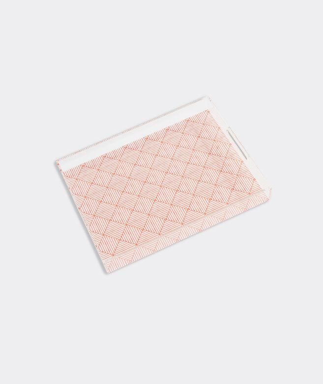 Canopy Geo Acrylic Tray