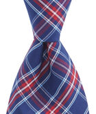 Poinsettia Plaid Shirting Tie
