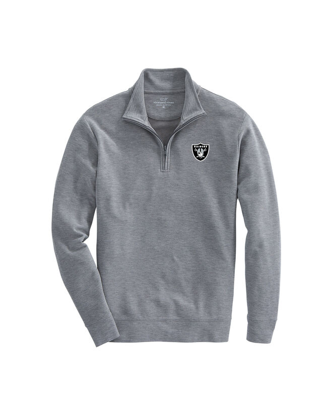 Oakland Raiders Saltwater 1/4-Zip