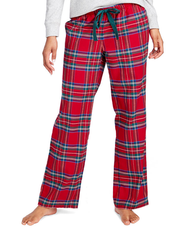 Jolly Plaid Flannel Lounge Pants