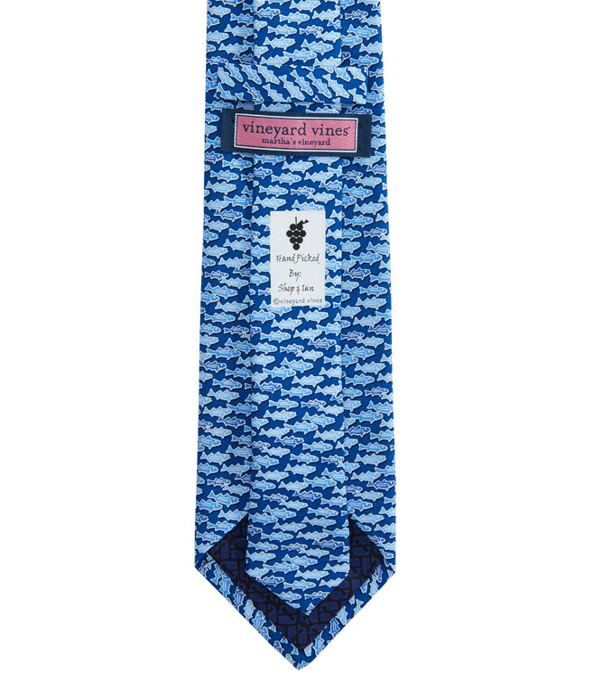 Boys Striped Bass Tie