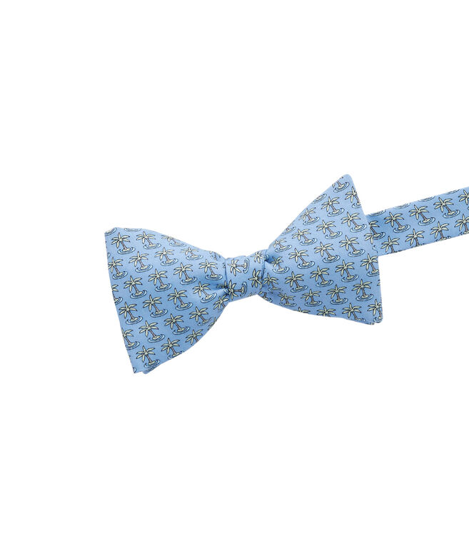 20th Anniversary Palm Tree Bow Tie