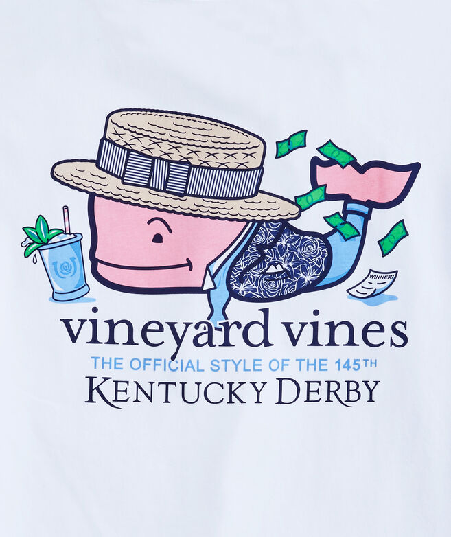 Kentucky Derby Winner Whale Pocket T-Shirt