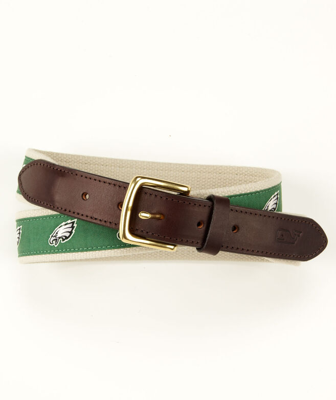 Philadelphia Eagles Canvas Club Belt