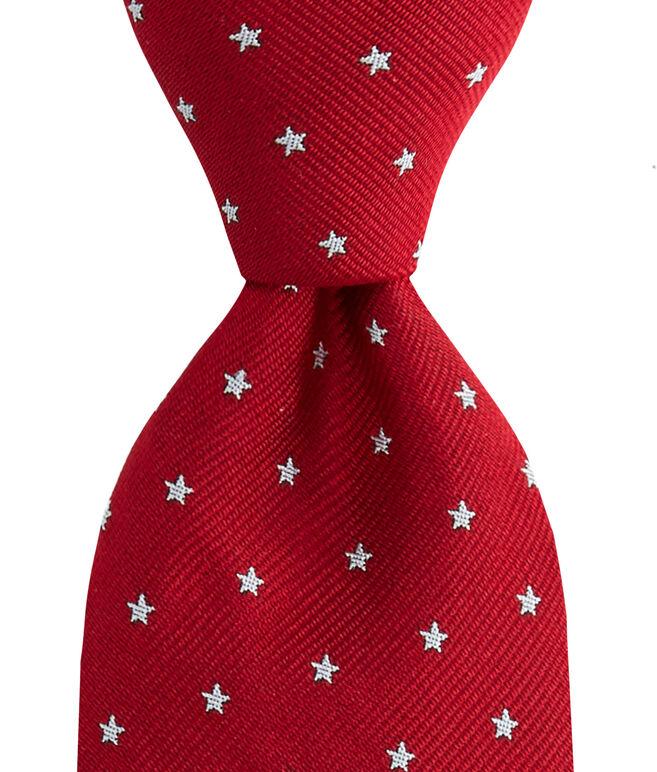 Kennedy Stars Skinny Tie