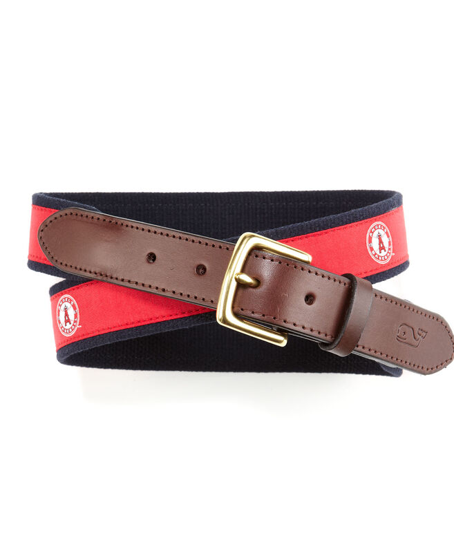 Los Angeles Angels of Anaheim Canvas Club Belt