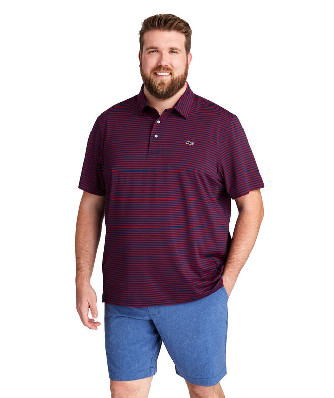 Palmetto Stripe Sankaty Polo