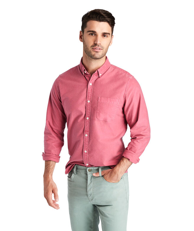Slim Fit Brisote Oxford Murray Shirt