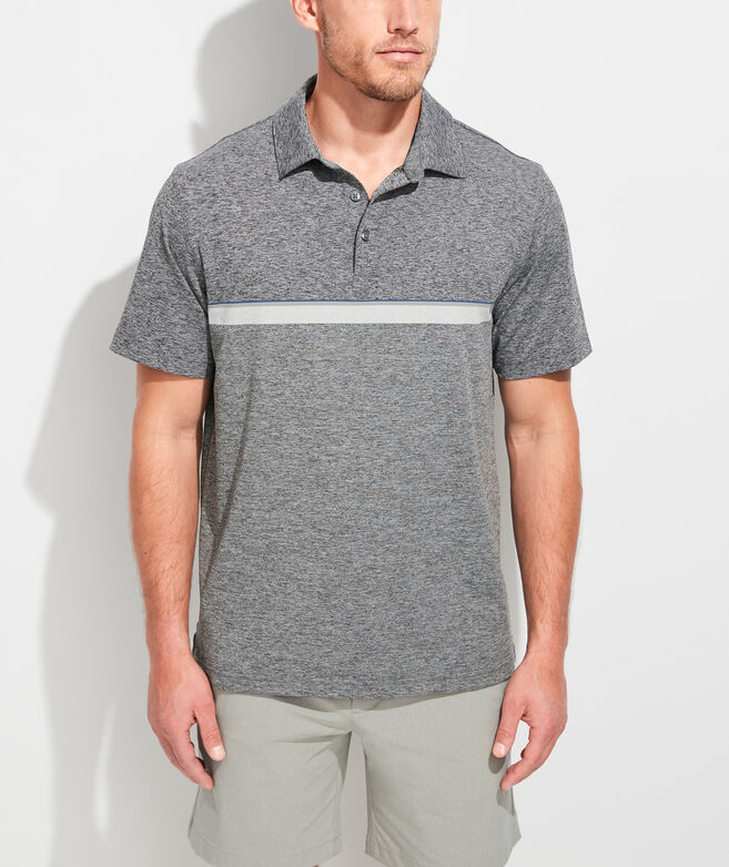 Hawksbill Stripe Sankaty Performance Polo