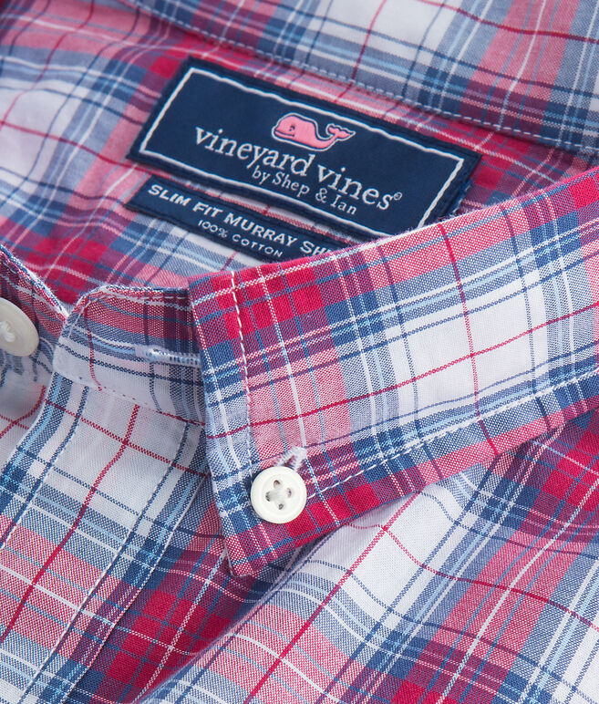 Bucklin Point Plaid Slim Murray Shirt