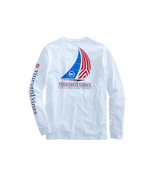 Long-Sleeve Sail Pocket T-Shirt