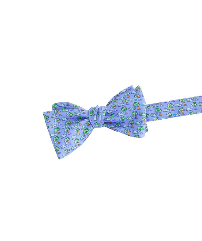 Tropical Whale Bow Tie