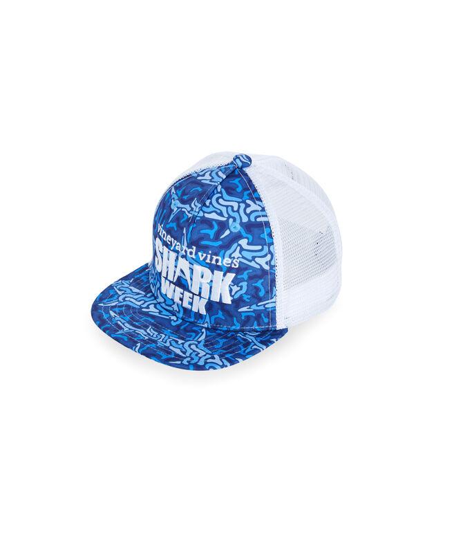 Kids Shark Week Trucker Hat