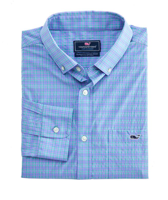 Plaid Performance Classic Tucker Shirt