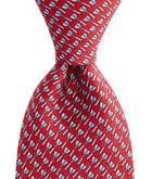 Bullseye Printed Tie