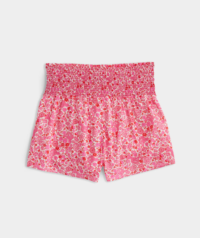 Among The Flowers Pull-On Shorts