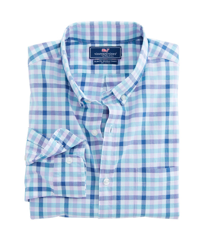 Triggerfish Gingham Slim Murray Shirt