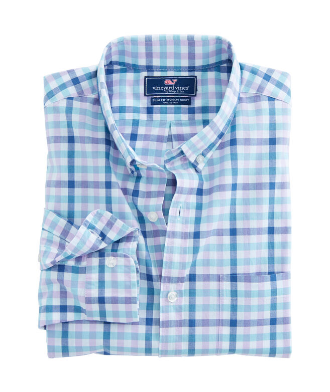 Triggerfish Gingham Slim Murray Shirt