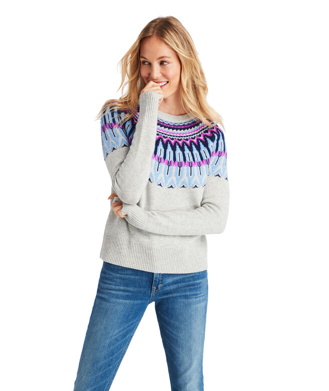 Pop Fair Isle Sweater