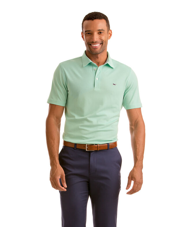 Dormie Oxford Sankaty Performance Pique Polo
