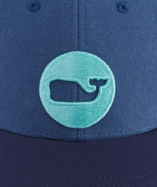 Low Pro Whale Dot Trucker Hat
