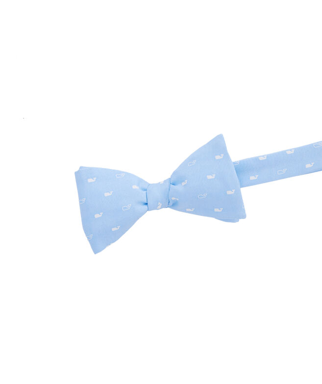 Spread Out Whale Printed Bow Tie