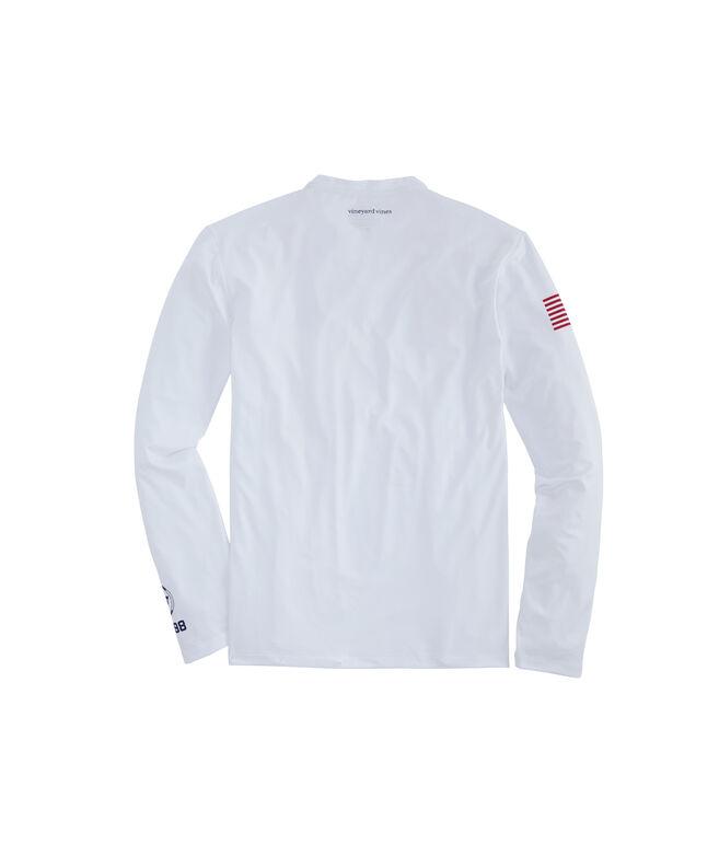 Sailing Long-Sleeve Performance T-Shirt