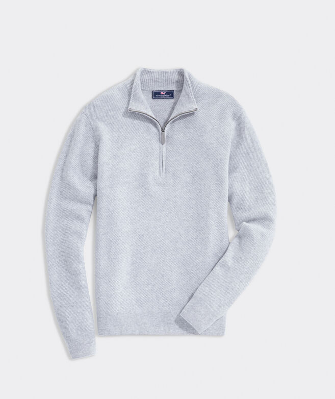 Cat Cay Cashmere 1/2-Zip Pullover