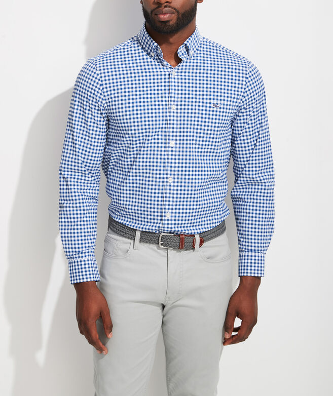 Classic Fit Evernia On-The-Go Performance Tucker Button-Down Shirt