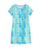 Girls Geo Whale Tail Tee Dress