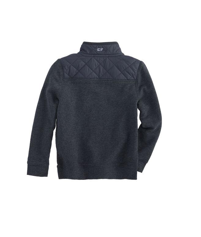 Boys Quilted Nylon Shep Shirt