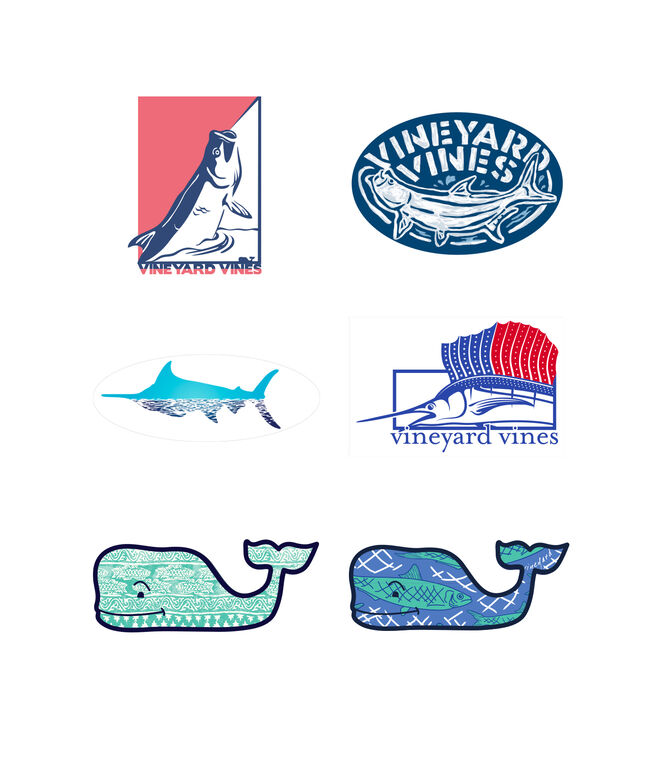 Fishing Sticker Pack