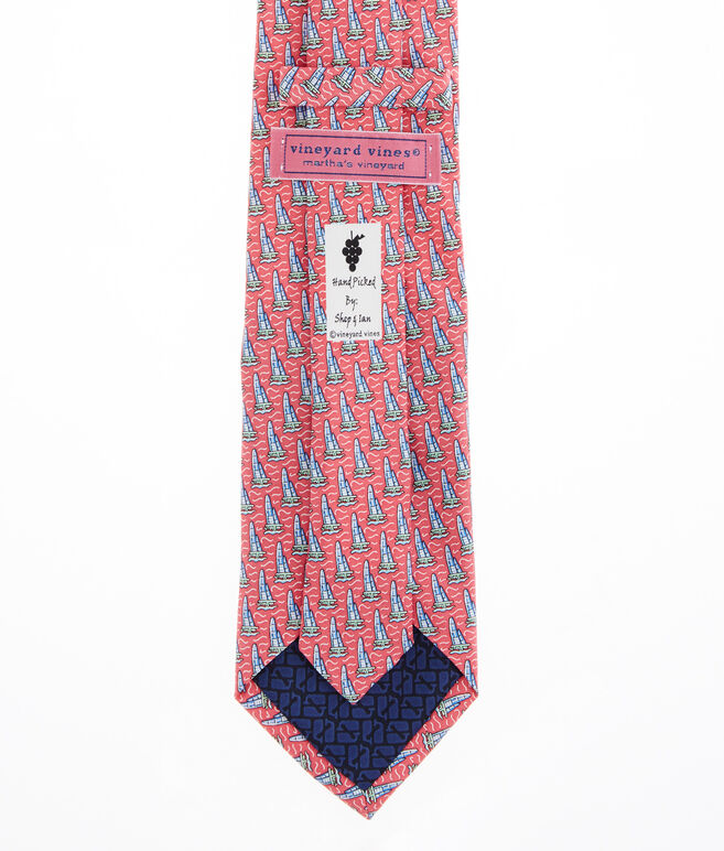 America's Cup Sailboat Tie