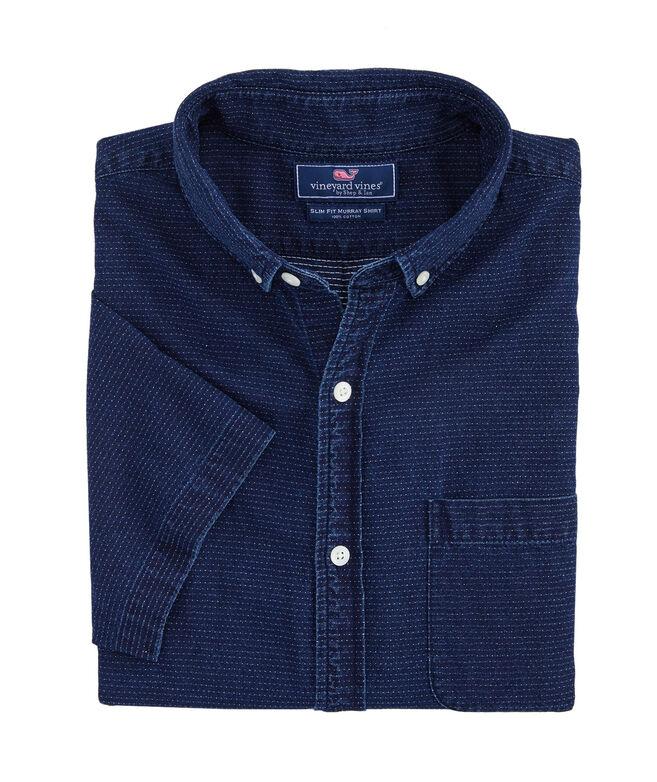 Slim Short-Sleeve Flatbush Dobby Murray Shirt