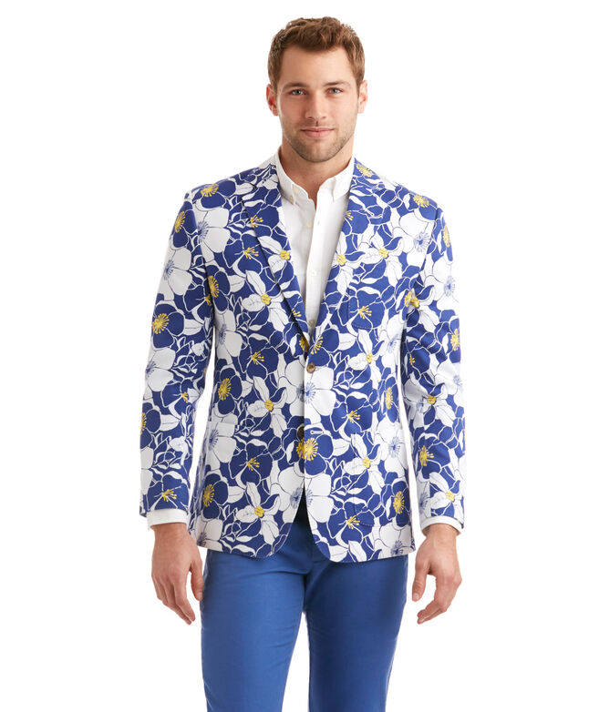 Seaside Floral Blazer