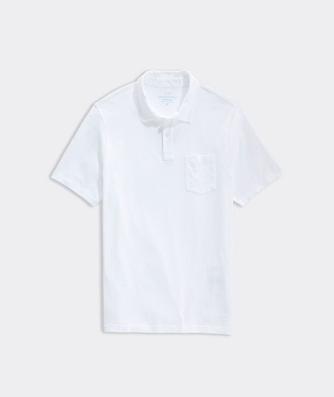 Garment-Dyed Island Polo