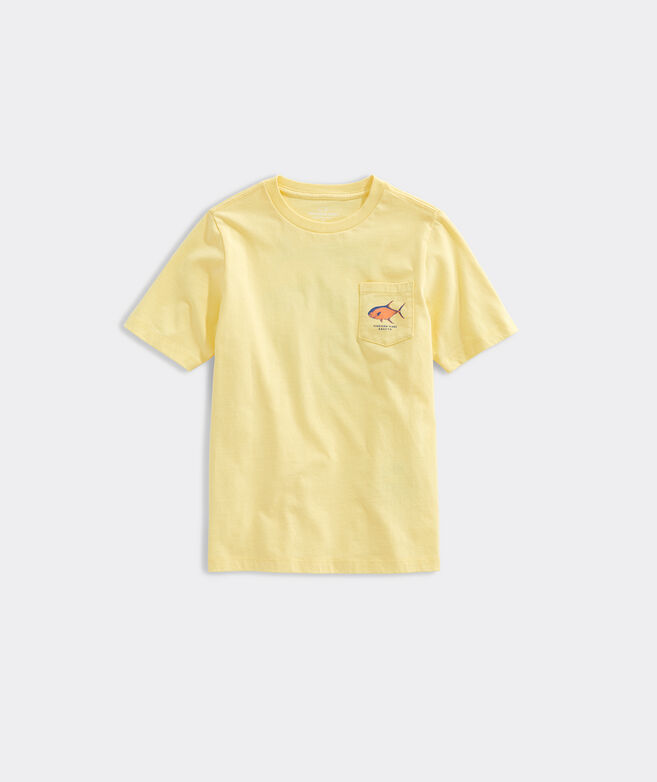 Boys Short-Sleeve Grand Slam Pocket Tee