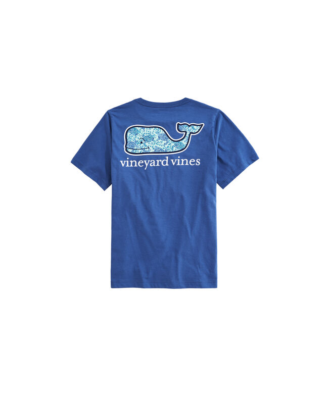 OUTLET Boys' Sea Turtles Whale Fill Short-Sleeve Pocket Tee