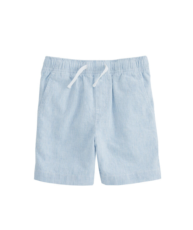 Boys Cotton/Linen Jetty Shorts