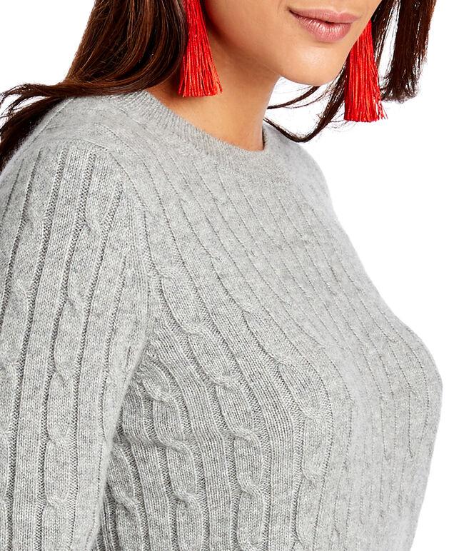 Tartan Cuff Coral Lane Sweater