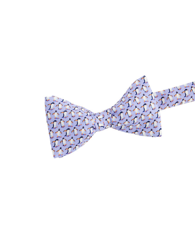 Marching Penguins Printed Bow Tie