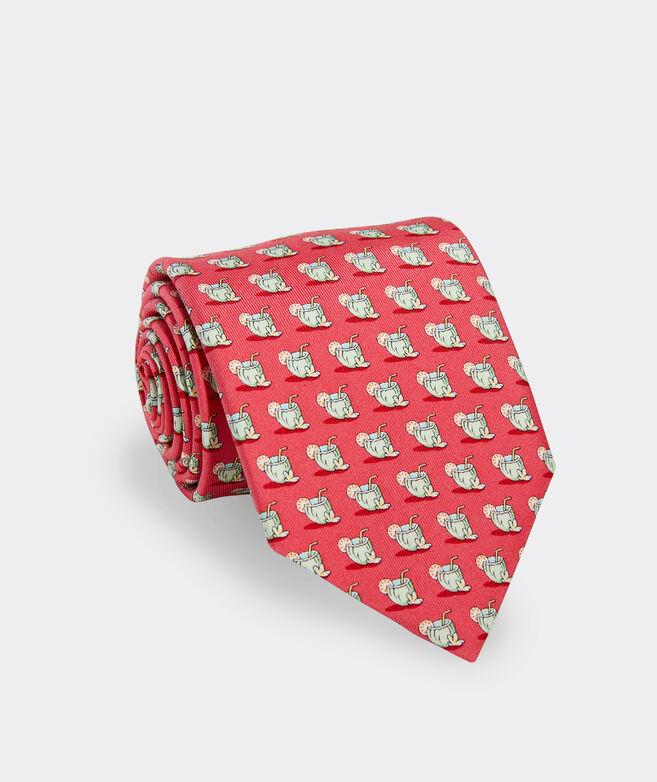 Coconut Cocktail Printed Tie