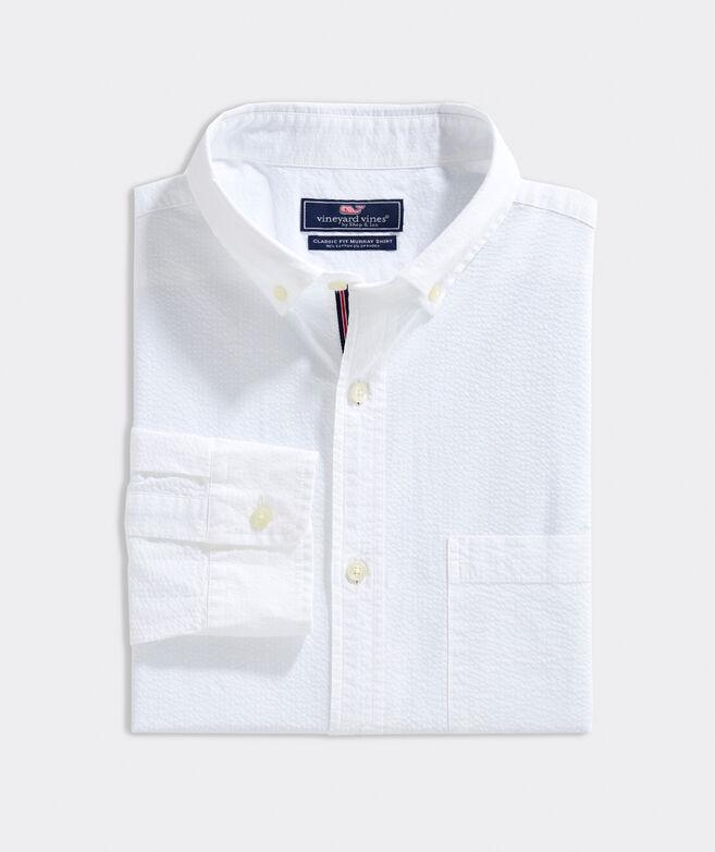 Classic Fit Haverhill Seersucker Murray Button-Down Shirt