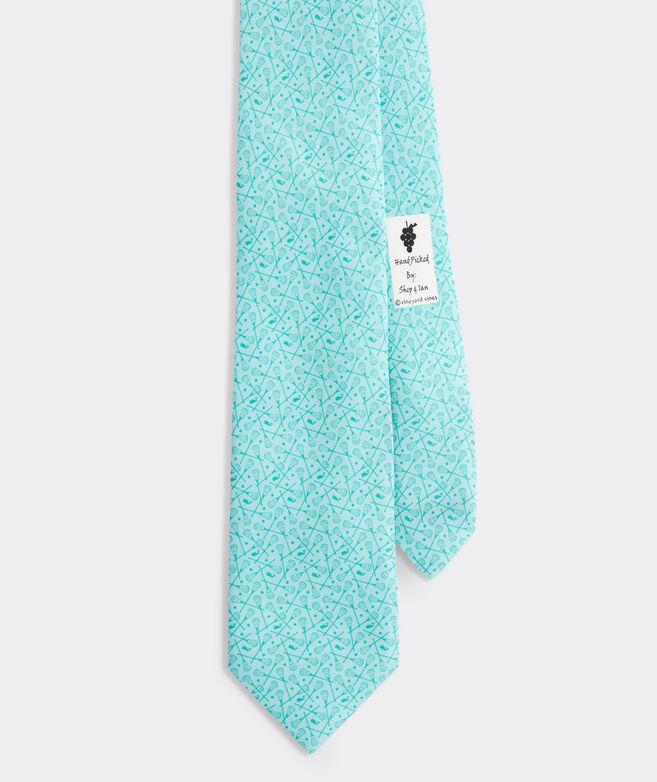 Scattered Lacrosse Printed XL Tie