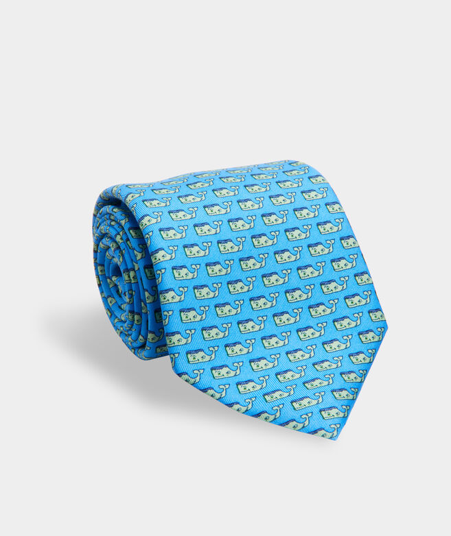 Frankenwhale Printed Tie