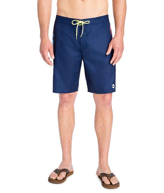 Sunset Side Stripe Board Shorts