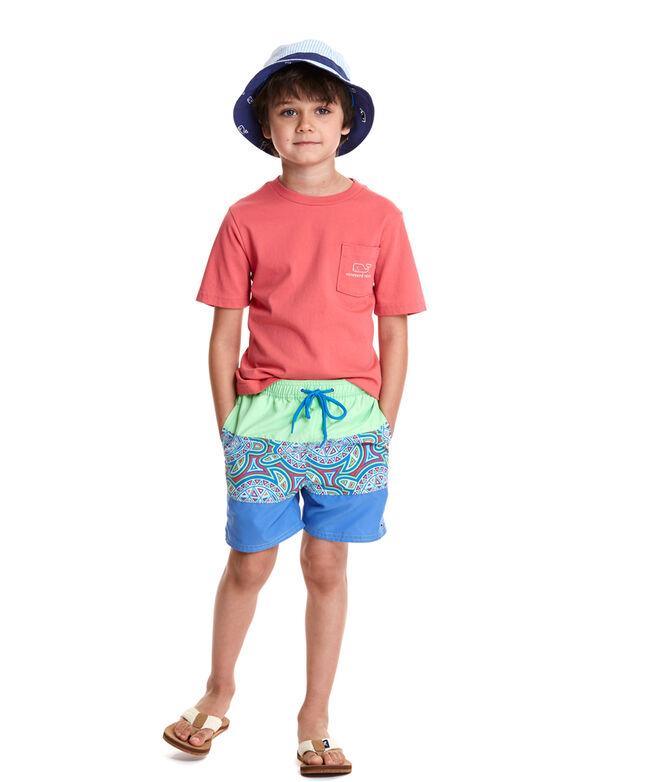 cd7d3b01b1375 Shop Boys Sea of Turtles Pieced Bungalow Shorts